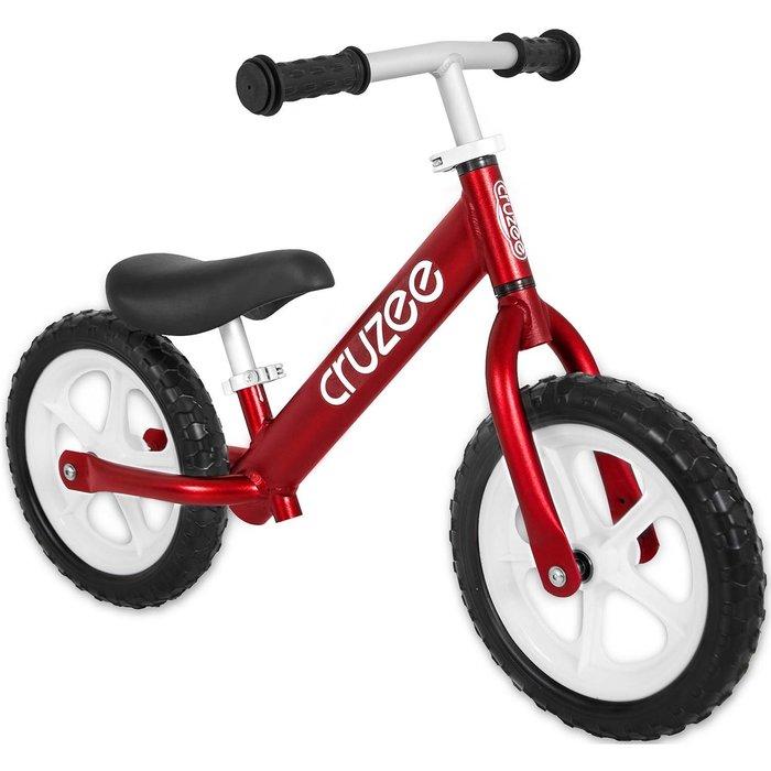 (CRUZEE) 超輕量鋁合金平衡滑步車 Push Bike 紅色 (共八色)