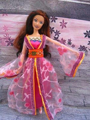 愛卡的玩具屋 芭比 可兒可穿的中國古裝...