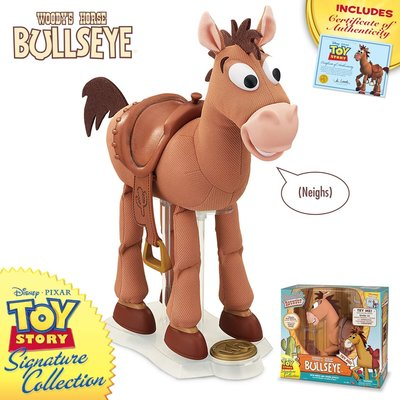 Toy Story 4 Bullseye 玩具總動員4 紅心 聲效人偶 典藏版 16吋~請詢問庫存