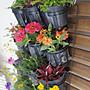 【園藝城堡】花牆專用簡易花盆架100個/組