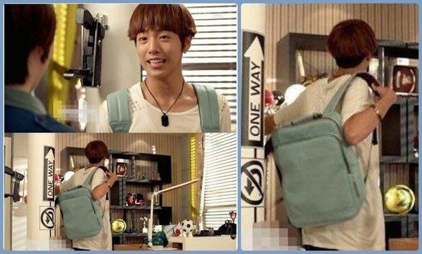 Cutie-NewBag【AA0387】韓劇:致美麗的你 車恩杰同款後背包 可放15.6吋小筆電