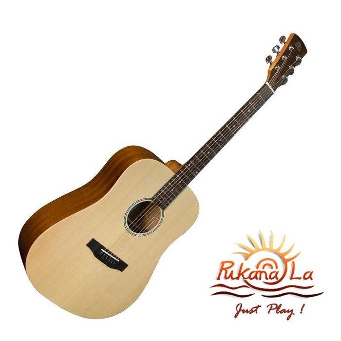 【名人樂器】Pukanala PG-D118 Guitar 雲杉木 全單 民謠吉他