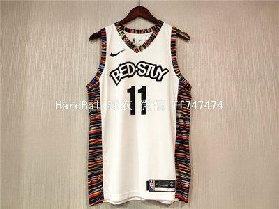 凱里·厄文(Kyrie Irving)  NBA布魯克林籃網隊 熱轉印款式 球衣11號 城市版