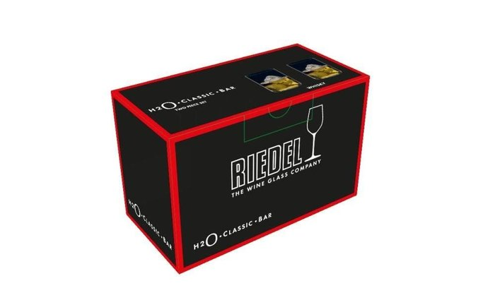 Riedel O系列 Riedel-H2O Whisky Glass Wisky 水晶杯 2入組 0414-02 威士忌