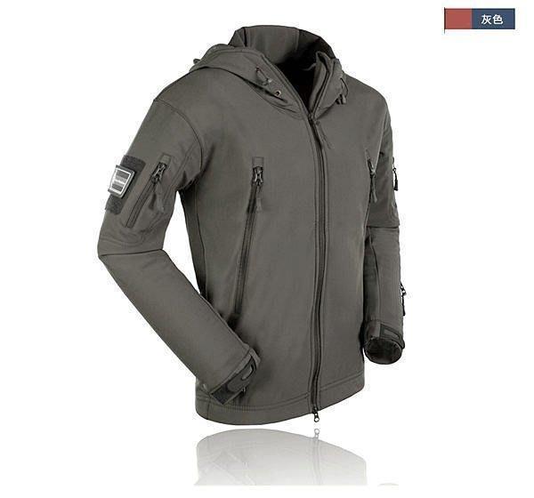 全新 美軍TAD鯊魚皮軟殼衝鋒衣 鯊魚 潛行者 內抓絨 防風防寒外套