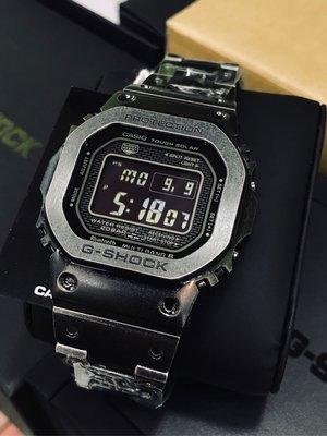 GMW-B5000V-1 槍灰色 炮台山門市一年保養 GMWB5000 G-Shock 舊化塗層