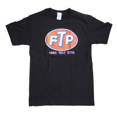 (I LOVE樂多) 美國進口 美式幽默 FTP Fuck That Puto 短袖T桖 短T