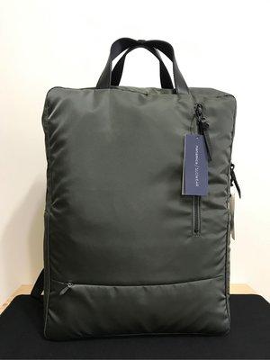 全新日本Nanamica x Slowear 尼龍背包,橄欖綠色