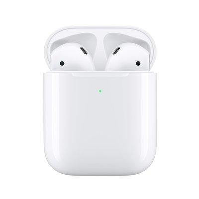 Apple AirPods 第二代 真無線藍牙耳機 搭配有線充電盒※淡水 淡大手機館
