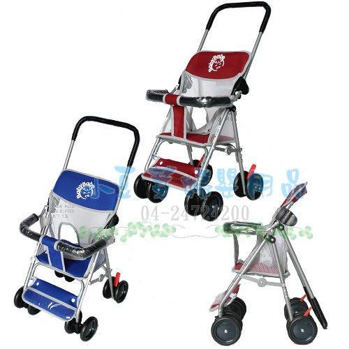 BabyBabe 兩用機車椅手推車 §小豆芽§ Baby Babe 兩用機車椅手推車_台灣製