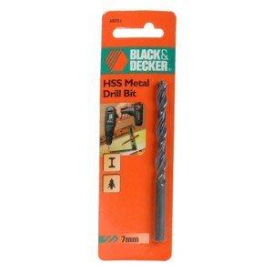 全新 BLACK&DECKER HSS 高速鋼鑽頭 直7mm 長110mm 只要59元 最後10支 賣完就沒