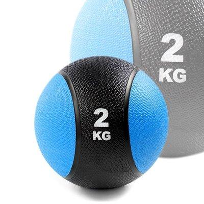 橡膠藥球2公斤(2kg重力球/太極球/...