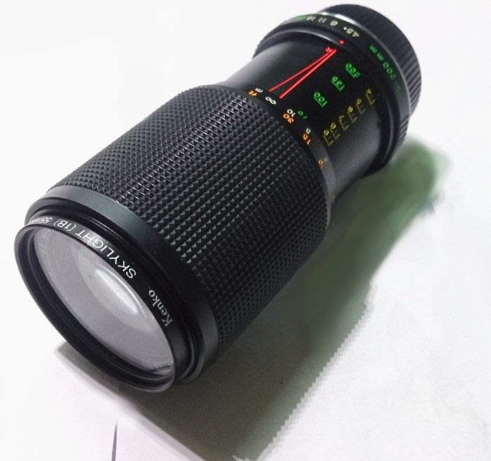 ☆手機寶藏點☆ YASHICA MC 75-200mm 1:4.5 Macro 單眼 鏡頭 功能正常 Che C12