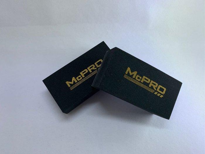 McPRO車體鍍膜專用日本植絨海綿 5顆裝 (DIY鍍膜 車體鍍膜 奈米 9H 陶瓷 瓷釉 封體)
