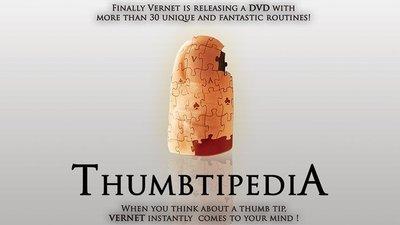 [魔術魂道具Shop]拇指套百科全書~~Thumbtipedia (DVD and Gimmick) by Vernet