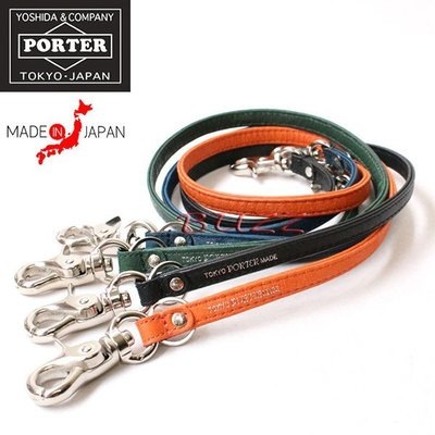 巴斯 日標PORTER屋~四色 PORTER WONDER 豚革鑰匙扣~腰掛包 342~03852