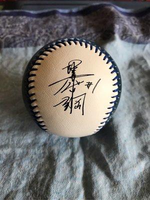 NPB 日本職棒 火腿鬥士隊 陽岱鋼 紀念球 LOGO球 印刷簽名球 二手舊物 意者下標