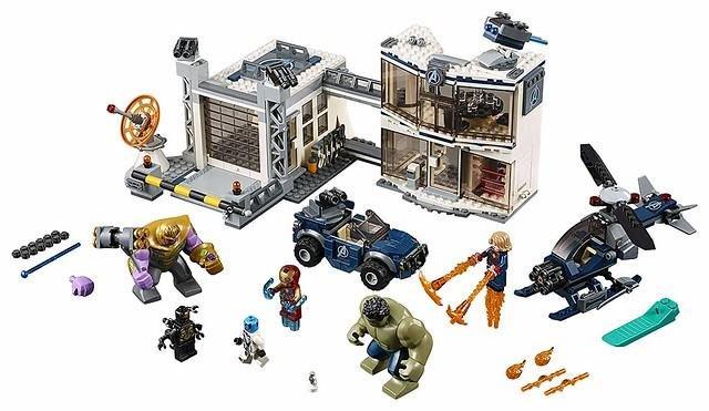 樂高 LEGO 76131 漫威 復仇者聯盟 終局之戰 大混戰 複合戰 薩諾斯 浩克 鋼鐵人 涅布拉