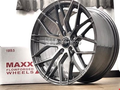 全新MAXX旋壓輕量化BENZ 5孔112 19吋鋁圈W204/W205/W212/W213/GLA/CLA/AMG