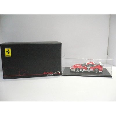RED LINE 1/43 FERRARI F575 MARANELLO BARRON CONNOR #62 RL030 (LM2004) 30030 PAK