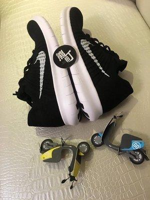 24全新 Nike Free RN Flyknit 黑白 赤足編織 慢跑鞋 831069-001 831070-001 新北市