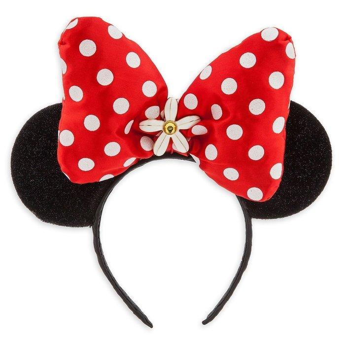 【美國大街】正品.美國迪士尼米妮耳朵米妮頭飾米妮造型頭飾米妮髮窟