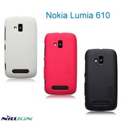 日光通訊@NILLKIN原廠 Nokia Lumia 610 超級護盾手機殼 抗指紋保護殼 磨砂背蓋硬殼~贈保護貼