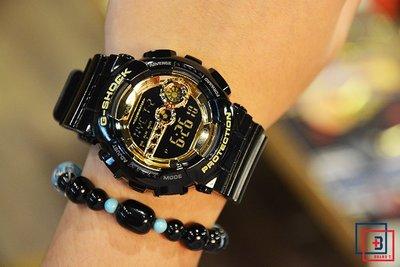 【Brand T】CASIO G-SHOCK GD-100GB-1DR 限定*黑金*黑色*金色*防水*雙感應*手錶 新北市