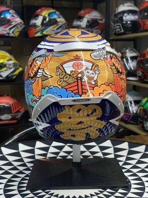 (硬骨頭)代購 日本SHOEI X14 招財貓 二代 祭典 摩托車 安全帽 頭盔