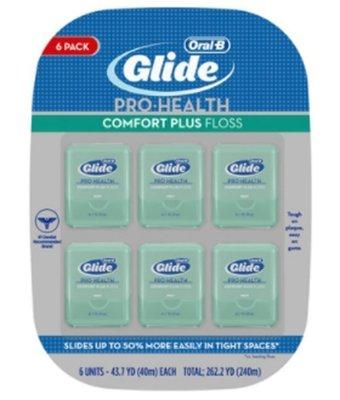 (漾霓)-代購~ ORAL-B 歐樂B Glide 清潔舒適牙線-薄荷口味(40公尺*6入)-1203155(代購商品