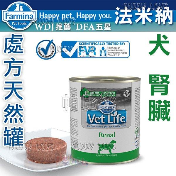 帕比樂 法米納-獸醫寵愛天然處方狗罐300克 (FD-9033)【腎臟】VDR-9  Farmina