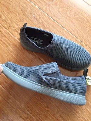 保證正品Skechers 新品男鞋ULTRA GO 55450 CHAR Air Cooled Goga Ma鞋墊