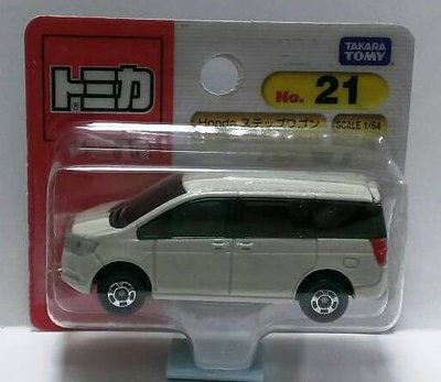 TOMICA 日本多美小汽車 本田HONDA STEP WGN No.21