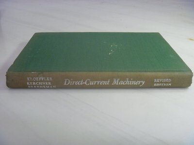 【月界二手書店】Direct-Current Machinery_Royce Kloeffler 〖大學理工醫〗AKO