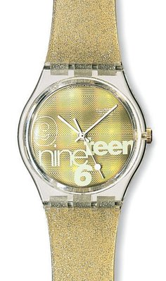 Swatch  nine teen 設計品牌錶 限量錶 (GK216)