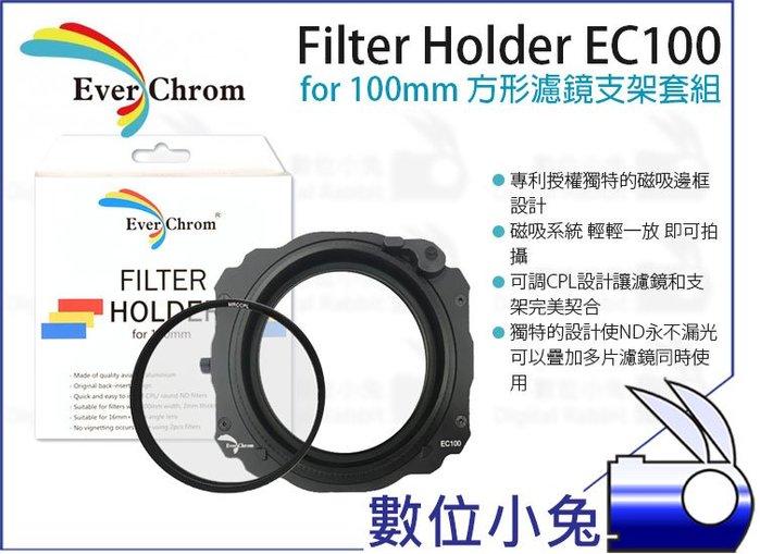 數位小兔【EverChrom Filter Holder 方形濾鏡支架 套組 EC100 】100mm CPL 濾鏡 N