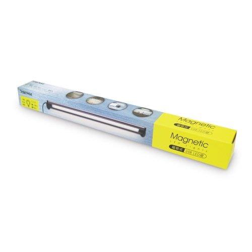 傑仲(有發票)逸盛科技 公司貨 ESENSE 磁吸式 USB LED燈-長(銀) 11-UTD337 網登享受兩年保