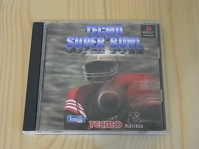 【小蕙館】PS~ Tecmo Super Bowl 美式橄欖球 (純日版)
