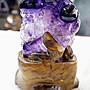 [S.D.小晶洞專賣店] 天然紫水晶雕件@海底世界@重:392g