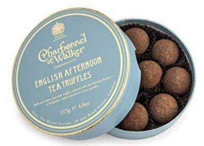 (預購)(下標前請先詢問)英國 CHARBONNEL ET WALKER English tea vodka truffles 下午茶伏特加松露巧克力115g