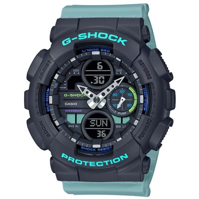 CASIO G-SHOCK S series GMA-S140-2A 藍色 GSHOCK GMAS-140