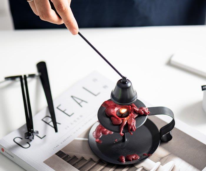[ Atelier Smile ]  鄉村雜貨 日本直送 滅燭套裝 蠟燭小工具 拍攝道具 復古家居 (現+預)