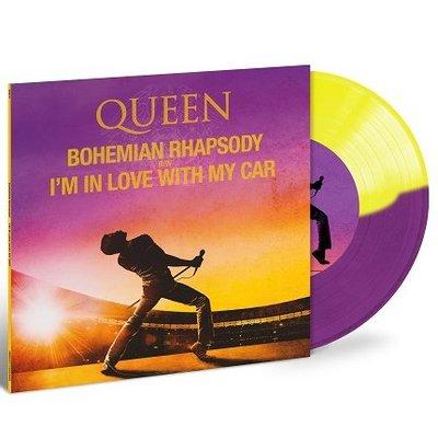 QUEEN皇后合唱團電影原聲帶波希米亞狂想曲2019 RSD世界唱片日7吋LP彩膠唱片