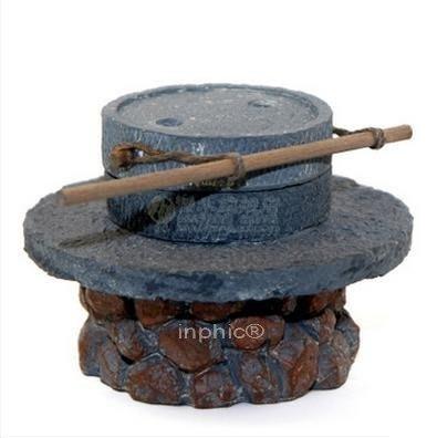 INPHIC-石磨 仿真農業農具微縮模型工藝品觀賞擺飾 教學交流道具特色