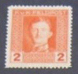1918年奧地利帝國佔領地Emperor Karl I 軍郵2heller