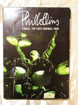 Phil Collins 菲爾柯林斯 Finally... The First Farewell Tour 2DVD