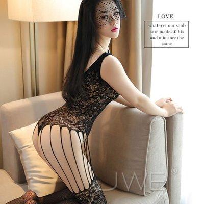 【伊莉婷】媚媚惑水 鏤空蕾絲網狀連身貓裝 JA-22180547 大腿鏤空 蕾絲編織花型
