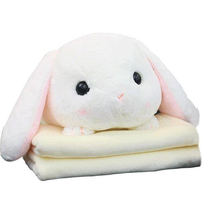 可插手捂手暖手午趴睡抱枕被子兩用毯子靠墊辦公室珊瑚絨學生毛絨
