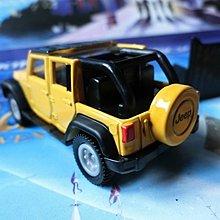 TOMY TOMICA 多美小汽車 80 JEEP WRANGLER 初回黃色吉普車 附2015年新車貼