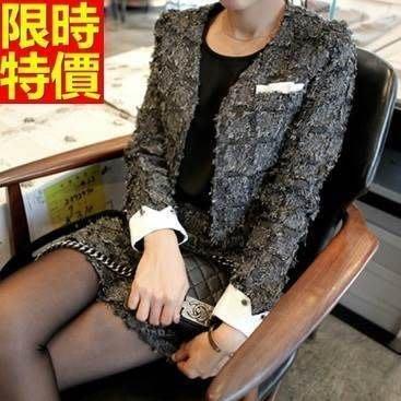 OL套裝 長袖裙裝商務辦公上班族-精選韓版優雅女西裝外套制服66x31[獨家進口][米蘭精品]